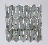2017 새로운 디자인 자개 쉘 혼합 대리석 모자이크 건축재료