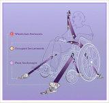 Nuova cintura di sicurezza della presidenza di rotella di arrivo per i handicappati Fes020