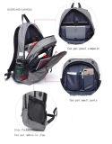 Mochila de hombro doble estudiante de gran capacidad de la bolsa de baloncesto al aire libre Mochila Mochila mochila USB de carga