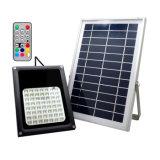 옥외 IP65는 56의 LED RGB 원격 제어를 가진 태양 플러드 빛을 방수 처리한다