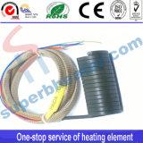 Elemento de calefacción caliente del calentador de bobina del corredor del resorte industrial