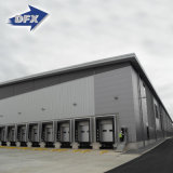 Niedrige Kosten galvanisierten vorfabriziertes Stahlkonstruktion-Industriegebäude-Halle-Lager