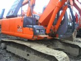 Excavador original usado de Japón Hitachi Zx200 para la construcción