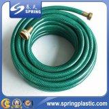 O PVC flexível de água de fibra de plástico de irrigação/mangueira de jardim
