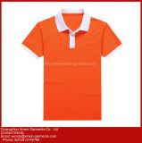 Desgaste de Desportos Quick Dry personalizado executando o Polo T Shirt grosso (P243)
