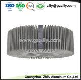 ISO9001 aangepaste Zilveren LEIDENE van het Aluminium Heatsink met het Anodiseren het Eindigen
