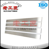 Barre plate Polished cimentée par Yn6 de miroir de Caribde pour des couteaux