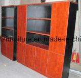 De houten Regelbare Boekenkast van het Kabinet van het Dossier van de Opslag van het Bureau