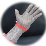 Metzger-Schutz-Edelstahl-Maschendraht-Handschuh
