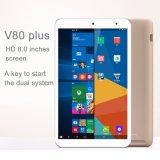 Onda V80 plus le SYSTÈME D'EXPLOITATION duel 2 dans 1 tablette PC