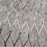 Acoplamiento tejido de la cuerda de alambre de acero inoxidable 316