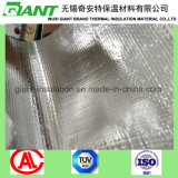 Перфорированные пленки крепятся барьер усиленная алюминиевая фольга, с которыми сталкиваются соткана ткань Alu фольги