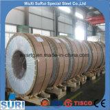 le bord de fente de bord de moulin d'épaisseur de 0.9 millimètre a laminé à froid des bandes/bobines/clinquants d'acier inoxydable de solides solubles 304
