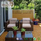 Nuevo Material Madera Conglomerado de Jardinería DIY Exterior Fence