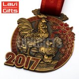 De in het groot Medaille van het Plateren van het Brons van de Douane van de Goede Kwaliteit Kleurrijke