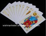 50cards cartões de jogo plásticos do PVC do espanhol 100%