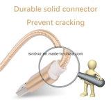 шнур USB головки металла 3FT Nylon Braided для мобильного телефона