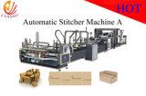 Высокая скорость автоматического папку и Stitcher Gluer картонная коробка