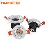 高い内腔のセービングによって引込められる穂軸6W 5W 3W LEDのスポットライト