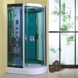 Aluminio vidrio templado curvo tintado enmarcado Ducha 900X900