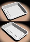 Papieren servies - rechthoekige plaat