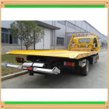 4X2 Isuzu 5tons 수출용 자동차 운반선 고장 평상형 트레일러 복구 차량 바디