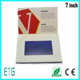 7 IPS van de duim LCD van het Scherm het VideoBoek van de Uitnodiging