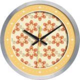 Horloge murale en aluminium (F6656A-18)