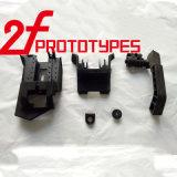 ABS plástico negro en prototipos