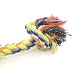 Haustier-Hundewelpen-Baumwolle flocht Knoten-Knochen-Seil-Kauen-Schlepper-Trainings-Spiel-Spielzeug