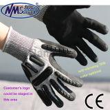 Nmsafety Hot Sale Anti-Cut mécanicien gants résistant aux chocs élevée