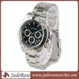 男性用水晶腕時計は、ステンレス鋼の腕時計、防水腕時計を作る