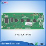 Syb24064BV20 de Grafische MAÏSKOLF LCD van het Controlemechanisme LCM 240*64 T6963