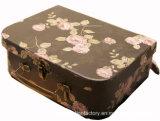 Conteneur de papier de jouet de valise de gosses/impression polychrome de cadre de valise de papier de gosse
