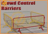 최신 복각 직류 전기를 통한 금속 군중 통제 임시 방벽