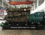 Generatore diesel marino Rated del fante di marina di Yuchai del generatore di potere 640kw di Ccfj640j-W