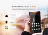 Dispositivo Leitor de RFID e 2D Scanner de código de barras, o Android 8.1, 1080P Tela sensível ao toque, GPS