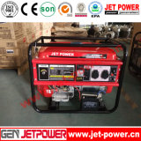 5kwガソリンまたはガソリン発電機の携帯用発電機のAir-Cooledガソリン機関