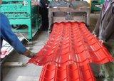 El material para techos trapezoidal del color cubre el azulejo de azotea acanalado de PPGI/PPGL