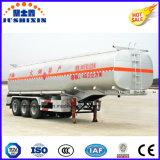 Nouveau matériel en acier au carbone Q235 de l'huile combustible pétrolier trois Fuwa essieux Remorque grande capacité de 50000 litres