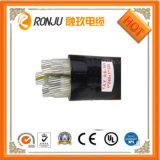 Do gêmeo paralelo de borracha do cabo do cabo 2X1.5mm2 do CPE do cabo do VDE H05rnh2-F cabo liso