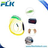 MPO de fibra 40g/MTP Cable FC/APC 12 puentes de fibra óptica