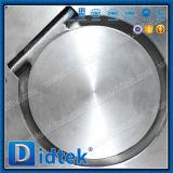 30 лет Didtek производителю клапана CF8m одной плиты проверьте клапан