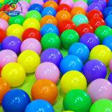 بلاستيكيّة مجوّف كرة [80مّ] كرة أصفر