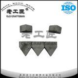 Cortador cubierto con bronce del carburo de tungsteno de Zhuzhou Yg6
