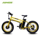 Bicicletta elettrica di nuova di disegno del sacchetto velocità del blocco per grafici 20inch 48V 500W 7