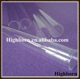 Tubo di vetro libero termoresistente del quarzo di pulitura a fuoco