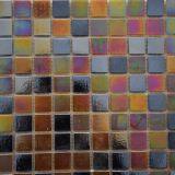 Buntes Glasstärken-Swimmingpool-Glas-Mosaik der mosaik-Fliese-8mm