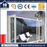 Aluminium-Außenschalldichte graue Farben-Bi-Innenfalten-Schiebetür