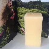 Nerz-weißes Quadrat-reine einfache nordische Pfosten-Kerze auf Verkauf